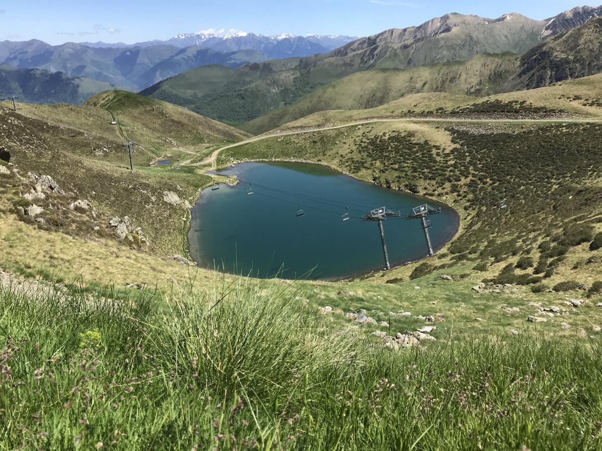 photo lac du boum vue hauteur